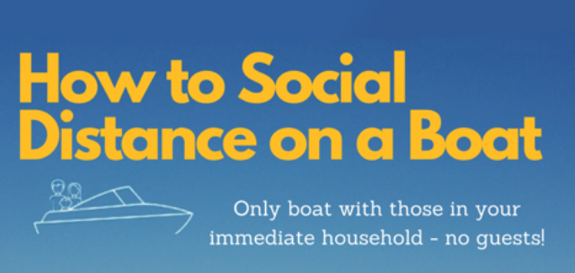 How to Social Distance on a Boat