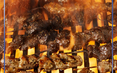 Weekend with delicious Souvlaki's meals